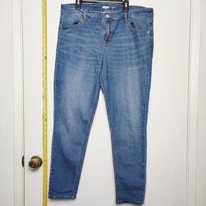 Women's Old Navy super skinny ankle jeans